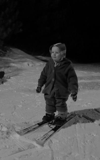 Skiing Nola Mae