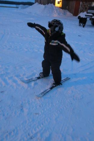 Kale skiing