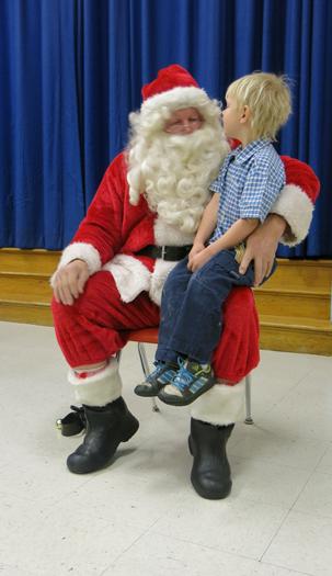 Santa w Henry