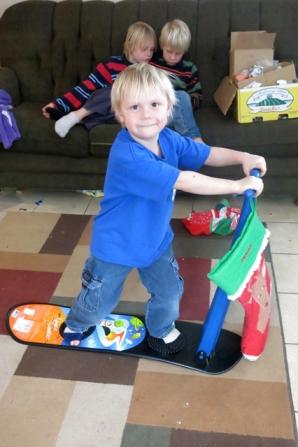 snowboard Henry