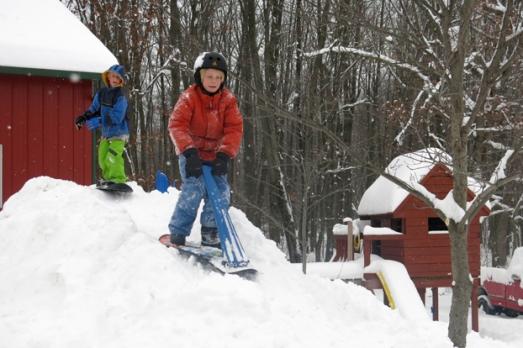 snowboard Robbie & Charlie
