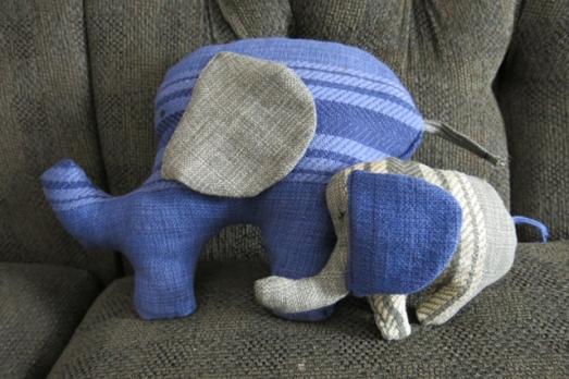 table cloth elephants