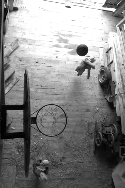 Basketball in the barn 3