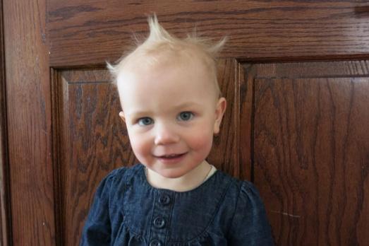 Hair on Nola Mae