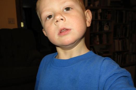 Henry selfie