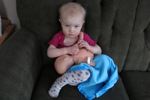 nursing doll