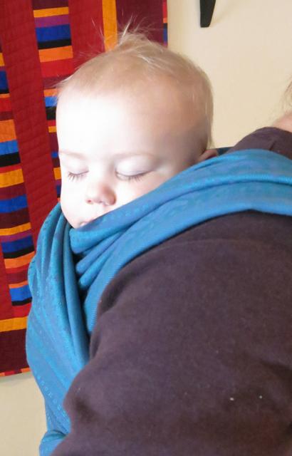Ellevill Jack sleeping