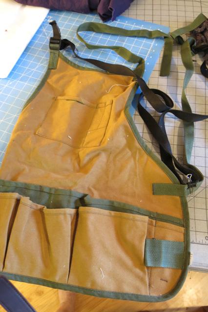 UFO Jack's apron