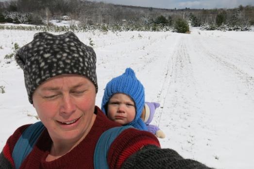 babywearing  double ski