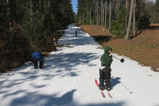 Last ski 1