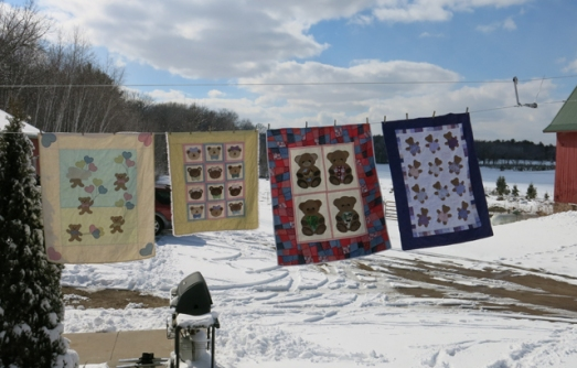 quilts baby bears