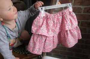skirt pink flowers Payton