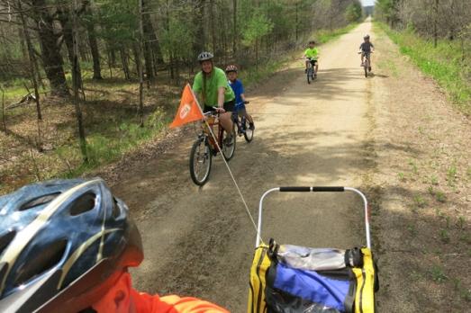 bike Tomorrow river trail