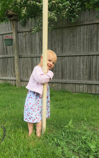 Dad's yard pole Nola Mae2