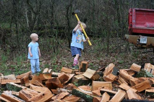 Jack's day firewood