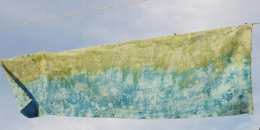 dye ice creulean blue & better blue green