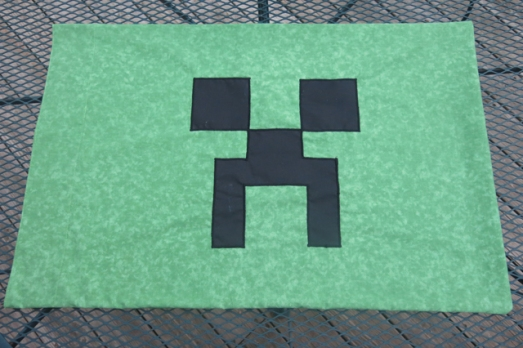 pillowcase minecraft creeper