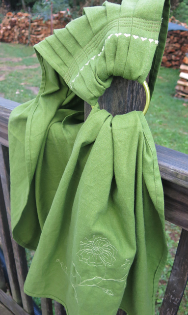 ring sling green july 14