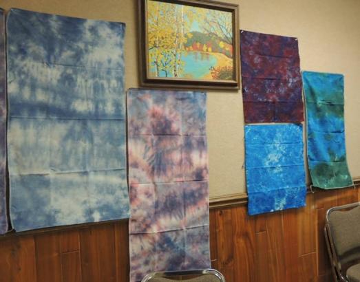dye Norske Needlers LWI Fabrics 1