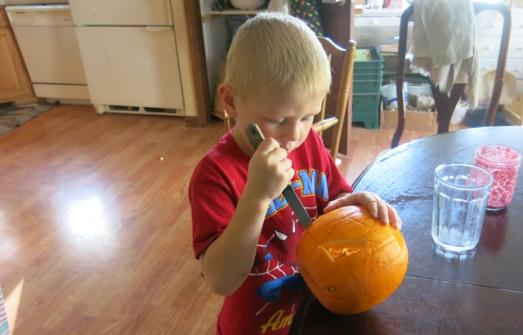 Henry's pumpkin