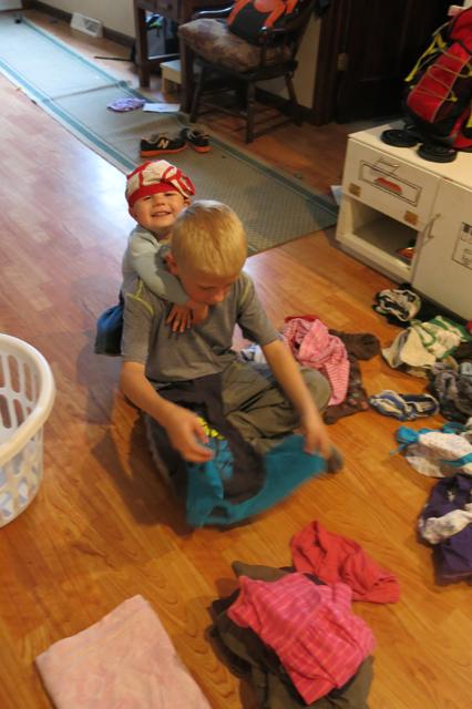 Laundry charlie & Nola Mae