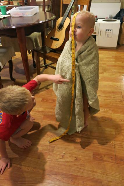 Measuring Nola Mae