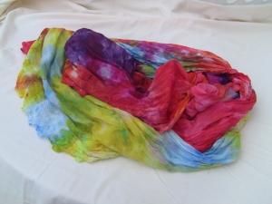 dye ice rainbow scarf lace 1