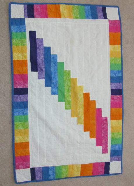 quilt rainbow