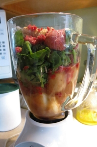 smoothie before