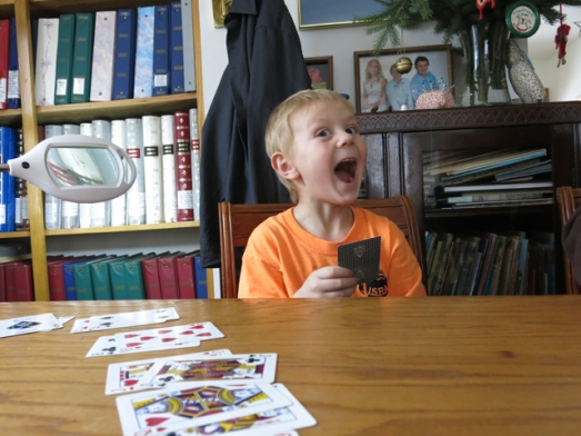cards Henry smile