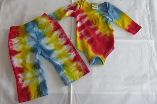 dye baby rainbow DNA