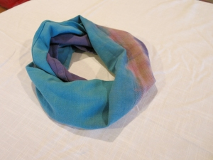 dye scarf upcycle frozen theme 2
