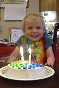 birthday cake Nola Mae