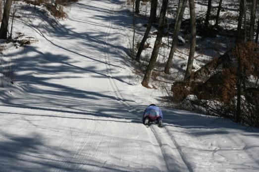 Nola Mae skiing 1