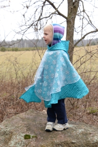 frozen cape snowflakes Nola Mae