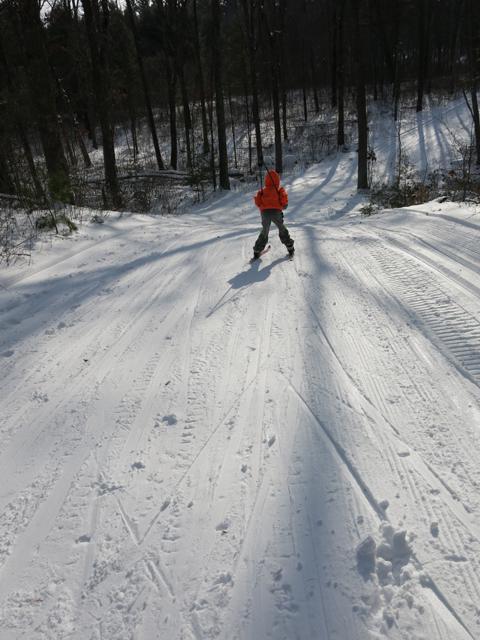 ski hill blue hill