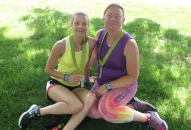 Frugal Sisters' Half Marathon 13 end