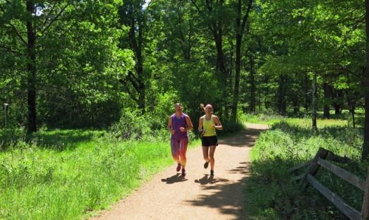 Frugal Sisters' Half Marathon 6 trail