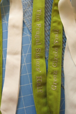 Frugal Sisters' Half Marathon medal 4