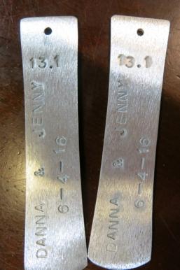 Frugal Sisters' Half Marathon medal 5